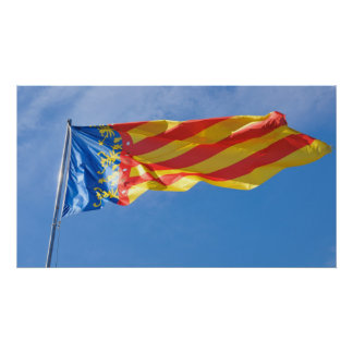 Valence, Espagne Poster