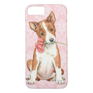 Valentine Basenji rose Coque iPhone 7