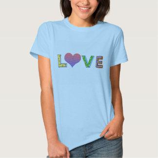 Valentine ou mariage, photo d'amour personnalisée t-shirt