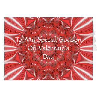 Valentine pour la carte de filleul