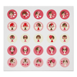 ValentineGirlsA Poster