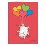 Valentines À L'ENVERS de CAT par Boynton Carte
