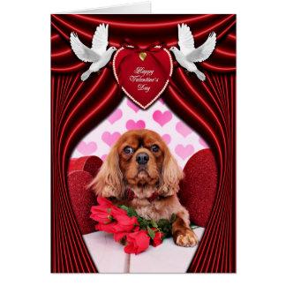 Valentines - cavalier - tonnelier carte de vœux