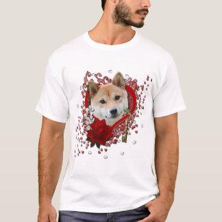 Valentines - clé à mon coeur - Shiba Inu T-shirt