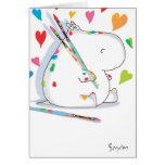 Valentines d'ARTISTE d'HIPPOPOTAME par Boynton Cartes De Vœux