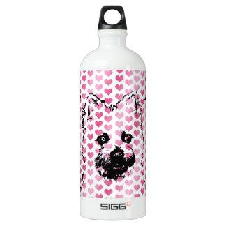 Valentines - silhouette de Terrier de cairn