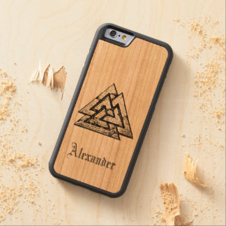 Valknut~ Coque iPhone 6 Bumper En Cerisier