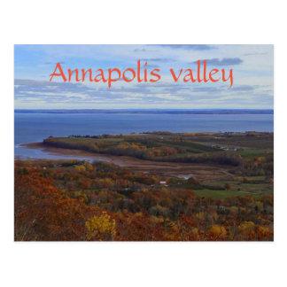 Vallée d'Annapolis en carte postale de la