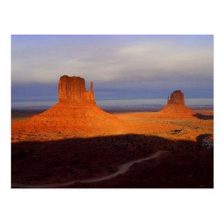 Vallée de monument carte postale