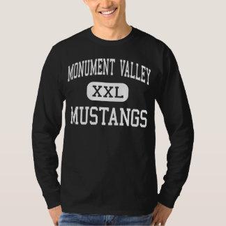 Vallée de monument - mustangs - haute - Kayenta T-shirt