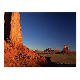 Vallée de monument, parc tribal de Navajo, Arizona Carte Postale