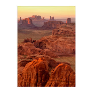Vallée de monument pittoresque, Arizona Art Mural En Acrylique