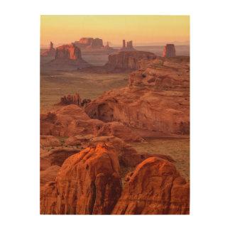 Vallée de monument pittoresque, Arizona Impression Sur Bois