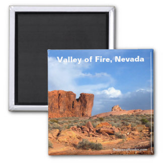 Vallée du feu, aimant du Nevada