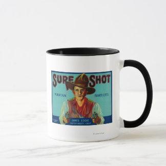 Vallée sûre de LabelPotter de caisse de poire de Mug
