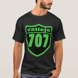 vallejo, Ca {707} -- T-shirt