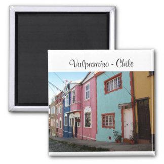 Valparaíso - le Chili Magnet Carré