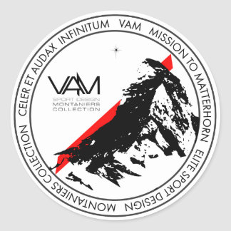VAM : Autocollant de Matterhorn Montaniers Zermatt