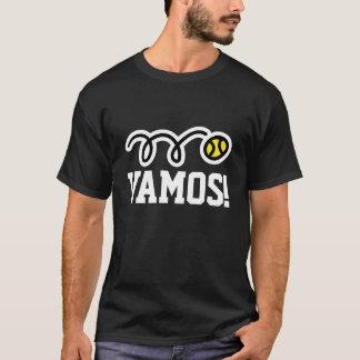 Vamos ! T-shirt de tennis pour des joueurs et des