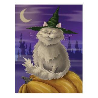 Vampire Kitty Carte Postale