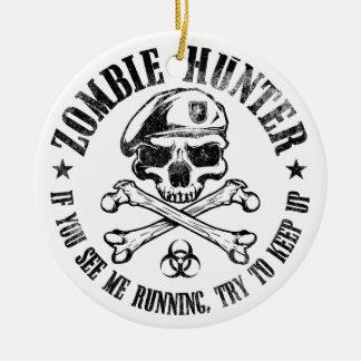 vampires de chasseur de zombi vivant complètement décoration pour sapin de noël