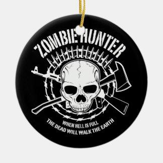 vampires de chasseur de zombi vivant complètement ornement