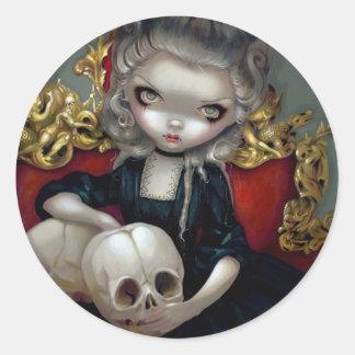 """Vampires de Les : Autocollant de Les Crânes"""