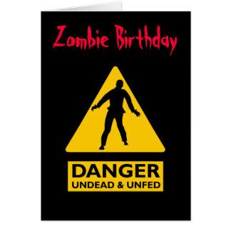 Vampires de zombi et Unfed Cartes