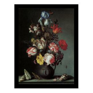 Van Der Ast Flowers dans un vase Carte Postale