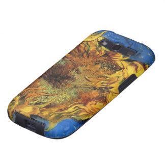 Van Gogh, 2 a coupé des tournesols, fleurs florale Étuis Samsung Galaxy S3
