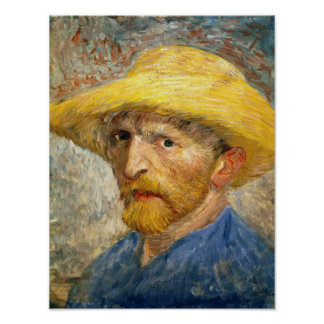Van Gogh - autoportrait Posters