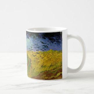 Van Gogh - champ de blé avec les corneilles (1890) Mug