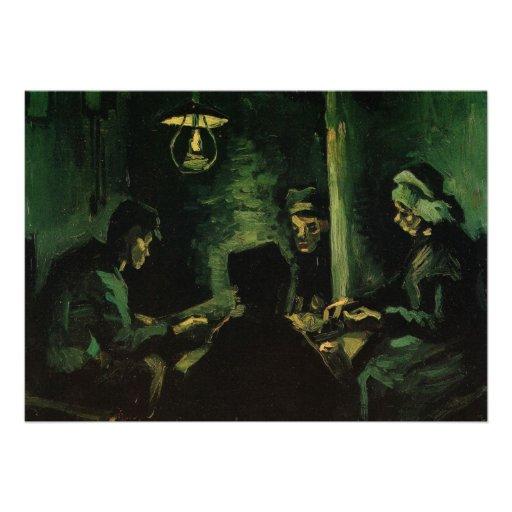 Van Gogh ; Étude pour les mangeurs de pomme de ter Bristol
