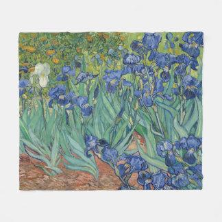 Van Gogh irise la couverture d'ouatine de jardin