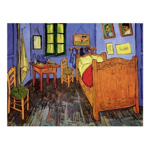 Van Gogh ; La chambre à coucher de Vincent dans Ar Carte Postale
