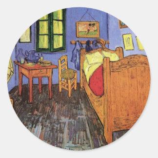 Van autocollants stickers van - La chambre a coucher de vincent van gogh ...
