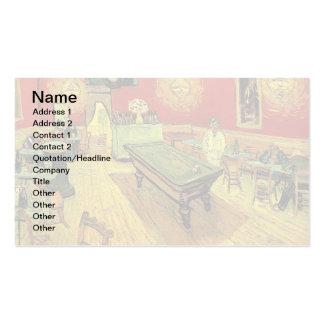 Van Gogh - le café de nuit Carte De Visite Standard
