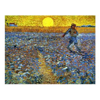 Van Gogh - le semeur Carte Postale
