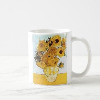 Van Gogh le vase avec 12 tournesols Mug