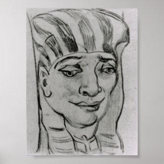 Van Gogh - masque d'une maman égyptienne 4 Affiches