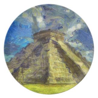 Van Gogh Mexique Assiette