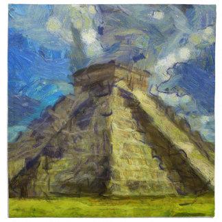 Van Gogh Mexique Serviettes En Tissus