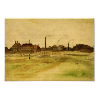 Van Gogh - mine de charbon dans le Borinage Posters