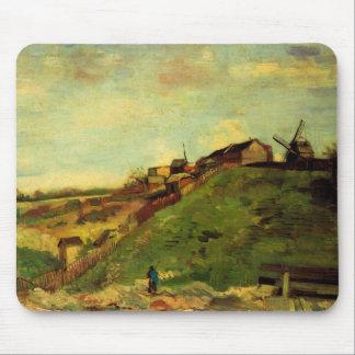 Van Gogh Montmartre : Carrière, les moulins, Tapis De Souris