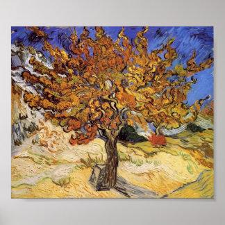 Van Gogh - mûrier Posters