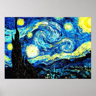 Van Gogh : Nuit étoilée Posters