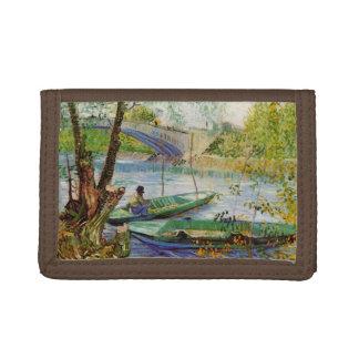 Van Gogh pêchant au printemps, beaux-arts vintages