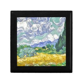 Van Gogh Petite Boîte À Bijoux Carrée