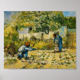 Van Gogh - premières étapes (après millet) Posters