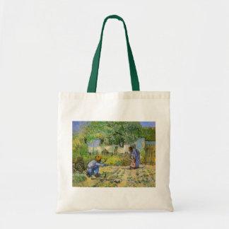 Van Gogh, premières étapes, art vintage Sacs En Toile